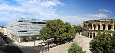 •Musée de la Romanité © Stephane Ramillon Ville de Nîmes