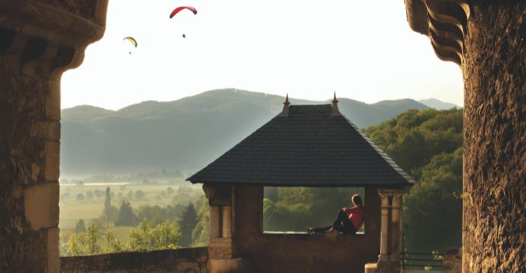 parapente dans les Pyrénées