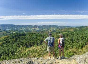 Montagne bourbonnaise - Le site de Pierre Chatel (c) Luc Olivier CDT03
